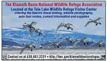 Klamath Basin National Wildlife Refuge Association Advertisement.