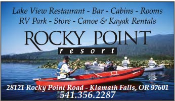 Rocky Point Resort Advertisement.